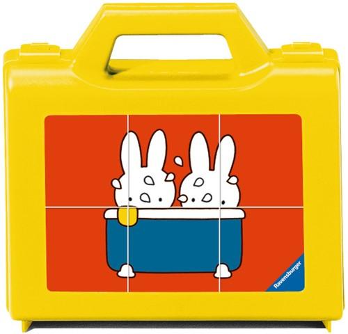 Ravensburger Blokkenpuzzel nijntje - 6 stukjes - kinderpuzzel