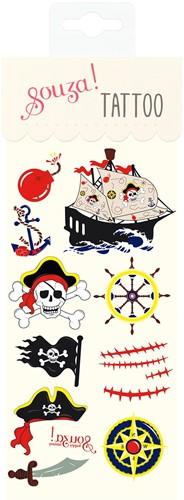 Souza Tattoo Piraat (6 velletjes)