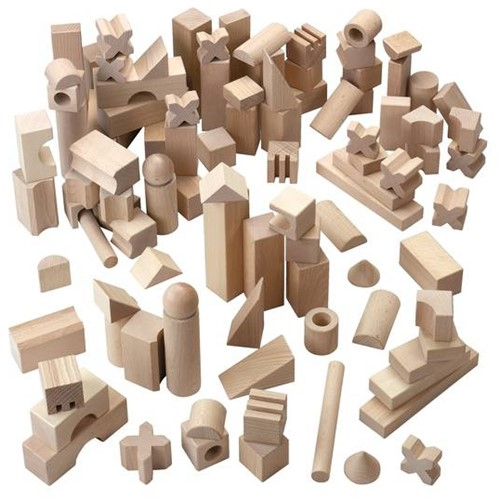 HABA Blokken - Extra groot basispakket (102 blokken)