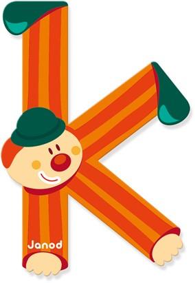 Janod Clown Letter -  K