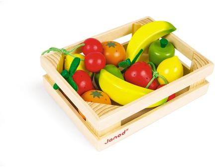 Kistje Met 12 Stuks Fruit