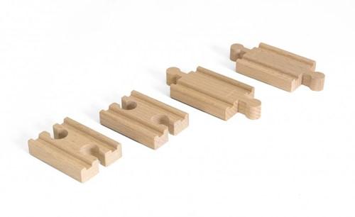 BRIO Korte rechte rails - 33393
