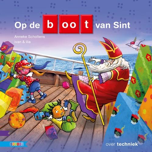 Zwijsen Kleuters samenleesboeken informatief - Op de boot van Sint