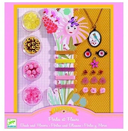 Djeco Beads and flowers
