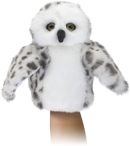 Folkmanis Little Snowy Owl