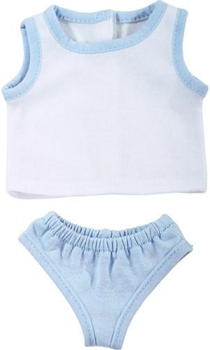 "Götz Basic Boutique, ondergoed """"Classic blue"""", babypoppen 30-33 cm / staanpoppen 45-50 cm (Inhoud: 2-delig)"