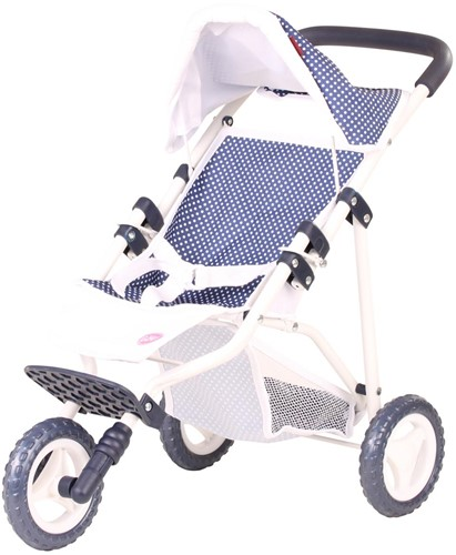 "Götz Needful Things, buggy """"Spotty blue"""""