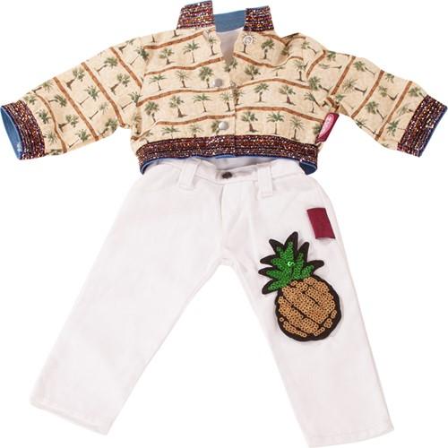 """Götz Boutique, combi """"""""Pineapple punch"""""""", staanpoppen 45-50 cm (Inhoud: 3-delig)"""