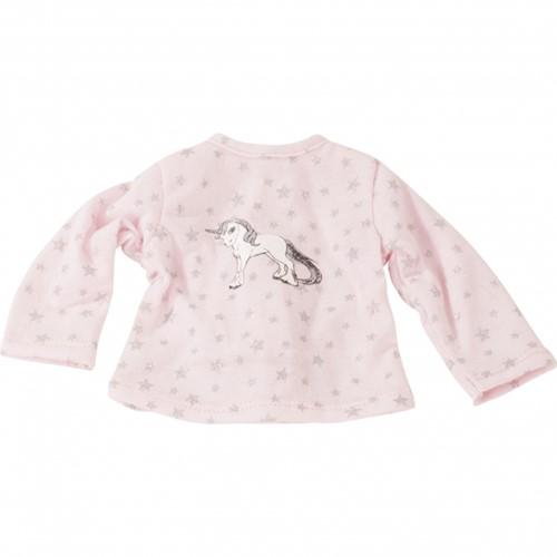 """Götz Basic Boutique, T-shirt """"""""Sparkling unicorn"""""""", staanpoppen 45-50 cm"""