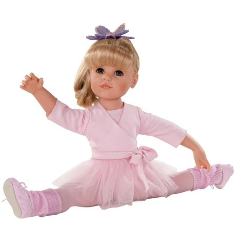 "Götz """"Hannah at the ballet"""", blond haar, blauwe ogen, 50 cm (Inhoud: 14-delig)"
