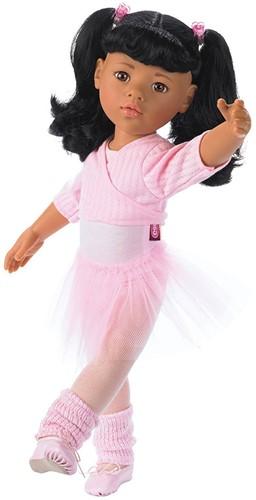 """Götz """"""""Hannah at the ballet"""""""", Aziatisch, zwart haar, bruine ogen, 50 cm (Inhoud: 15-delig)"""
