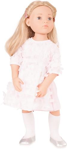 """Götz Happy Kidz, """"""""Emma"""""""", blond haar, steengrijze ogen, 50 cm"""
