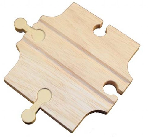 Plan Toys  Plan City houten speelstad weg Verbinding Rail en Road