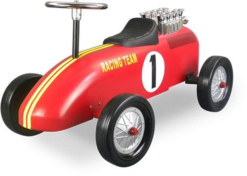 Retro Roller  loopauto Racingteam rood Niki