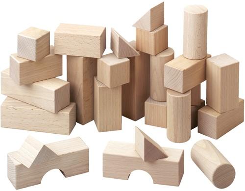 HABA Blokken - Basispakket (26 blokken)