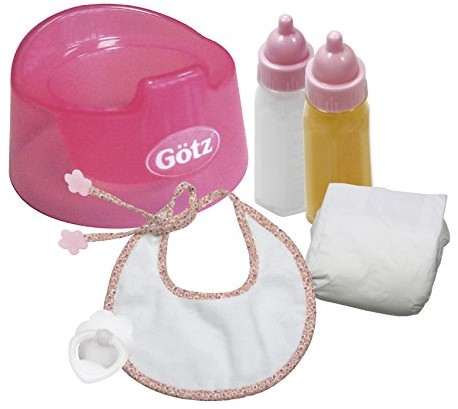 """Götz Needful Things, set, """"""""Basic care"""""""", babypoppen 30-33 cm / 42-46 cm (Inhoud: 7-delig)"""