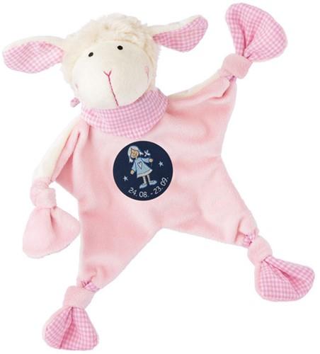 sigikid Zodiac knuffeldoekje Virgo roze 48821