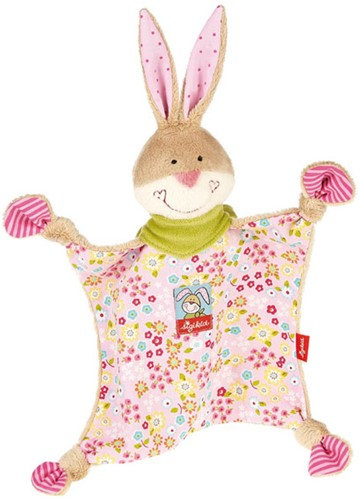 sigikid knuffeldoekje konijn Bungee Bunny 48933