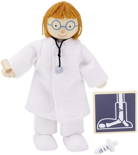 Goki Flexible puppet, doctor