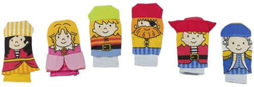 Goki Finger puppets, Pirates