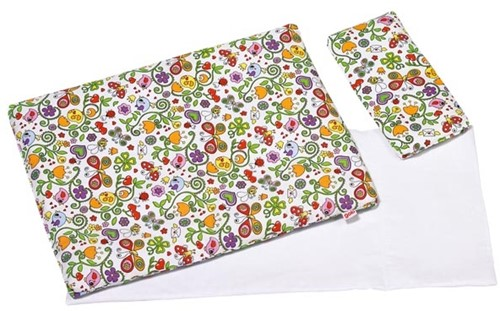 Goki Bedding set for dolls, springtime