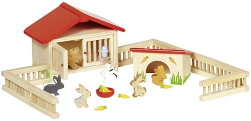 Goki Rabbit hutch