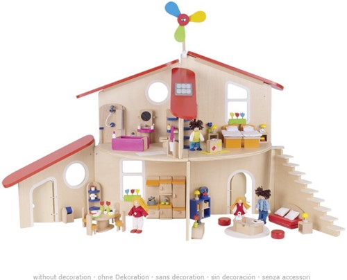 Goki Doll's house, modern living