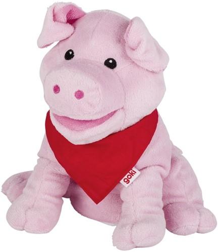 Goki Hand puppet pig Snelly