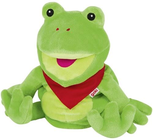 Goki Hand puppet frog Frilo