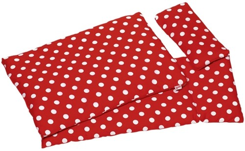 Goki Bedding set for dolls, polka dots