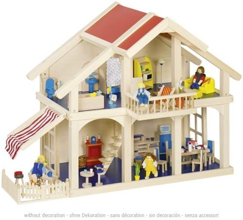 Goki Doll's house, patio
