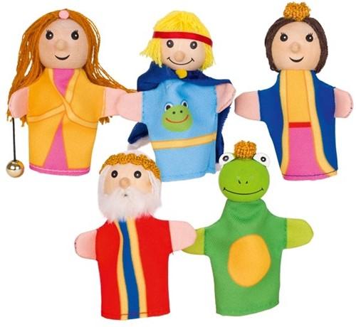 Goki Fingerpuppets Frog King