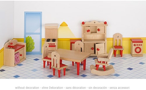 Goki Furniture for flexible puppets, kitchen 2