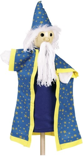 Goki Hand puppet Magician