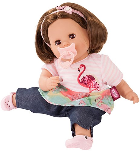 """Götz Cosy-Aquini, """"""""Flamingo love"""""""", bruin haar, slaapogen, 33 cm"""