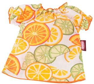 """Götz Basic Boutique, jurk """"""""Lemon"""""""", babypoppen 42-46 / staanpoppen 45-50"""