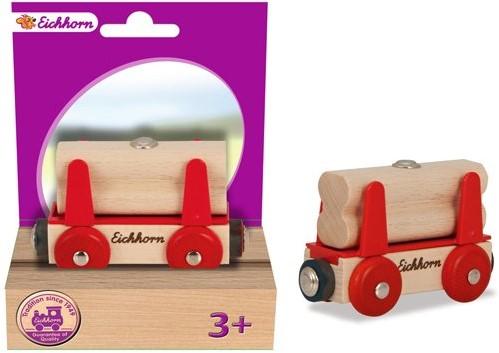 Eichhorn  wagon met hout