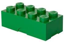 LEGO Lunchbox Classic Brick 8 - Groen