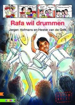 Zwijsen AVI Strips - Rafa wil drummen