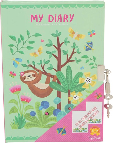 Tiger Tribe My Diary/Tropical Sloth
