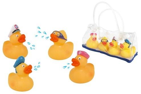 Planet Happy  badspeelgoed Eendenvrienden met opbergtasje