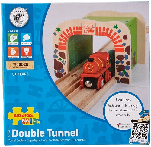 Bigjigs Double Tunnel
