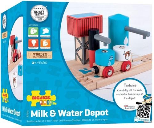 Bigjigs Milk & Water Depot