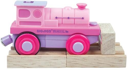 Bigjigs Pink Battery Steam Engine (6)