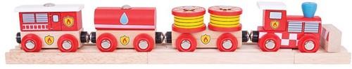 Bigjigs Fire & Rescue Train