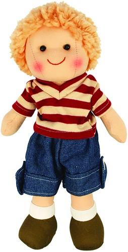 Bigjigs Harry - Blonde Hair/Stripy T-Shirt
