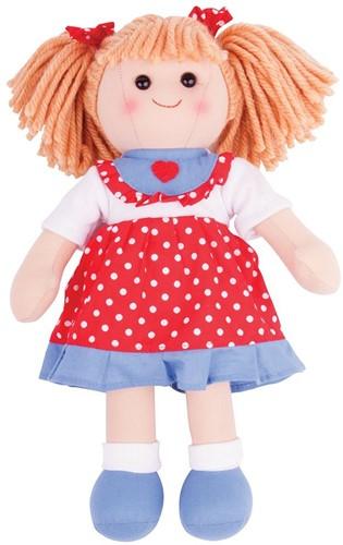 Bigjigs Emily - Red Spotty Dress