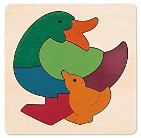 Hape Rainbow Duck