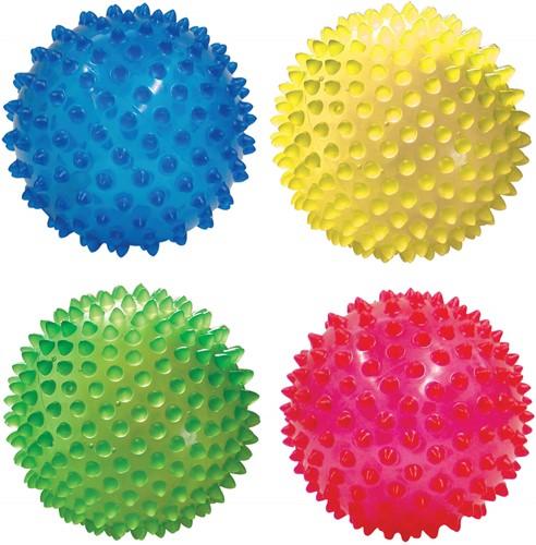 Edushape Kleine Sensorische Ballen (10cm) - Set van 4 in CB