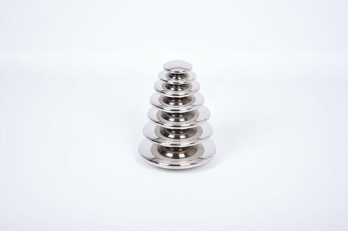 TickiT Sensory Reflective Buttons Silver